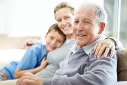aging in place at home near family